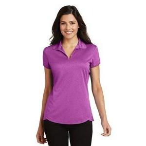 Ladies' Port Authority® Trace Heather Polo Shirt